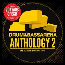 Drumsound & Bassline Smith, Tom Cane, Dimension, Technimatic, Heavy1, Baby D, Wilkinson, TC, Harvest, DJ SS, Serum, Serial Killaz, Athys & Duster, Noisia, Phace, Ryme Tyme, Optiv & BTK, Rockwell, A.M.C, Coda, Pendulum, DJ Fresh, Tenor Fly, $Pyda, DJ Hazard & D Minds, Loadstar, Original Sin & Taxman, DC Breaks, Bad Company UK, Ed Rush & Optical, Logistics, Artificial Intelligence, Q Project, Total Science, DJ Zinc, K-Tee, Friction, Icicle, Alix Perez, Netsky, Sigma, S.P.Y, Jo, Dopeskillz, Shimon & Andy C, Rude Bwoy Monty, DJ Red, MA2, Foul Play, J Majik, Kathy Brown, High Contrast, Un-Cut, Ram Trilogy, Future Cut, Dillinja, Moving Fusion, Konflict - Drum & Bass Arena Anthology 2