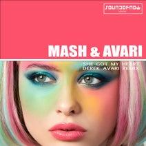 Derek Avari, Mash & Avari - She Got My Heart(Derek Avari Remix)