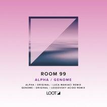Room 99, Luca Maniaci, Lessovsky - Alpha / Genome