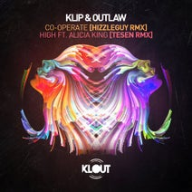 Hizzleguy, Klip & Outlaw, Alicia King, Tesen - Co-Operate (Hizzleguy Remix) / High feat. Alicia King (Tesen Remix)