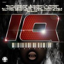 DJ Gunshot, Fallen Angels, Kid Jay, Salt Fish, Ackee & Bakes, Dillinja, Mr. E, Clarky, Desired State, Back 2 Basics, DJ Hype, Mr. E, Dillinja & Clarky, Johnny Jungle, DJ Dopeski, Bakes, Salt Fish, Ackee, Badman - IQ Classics