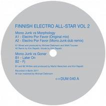 Mono Junk, Morphology, Mono Junk, Goner - Finnish Electro All-Star Vol 2