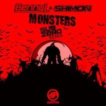 Shimon, Sub Zero, Benny L - Monsters (Sub Zero Remix)