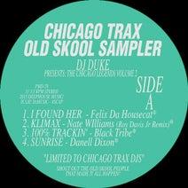 Felix Da Housecat, Nate Williams, Black Tribe, Danell Dixon, DJ Duke, Roy Davis Jr. - CHICAGO TRAX OLD SKOOL SAMPLER VOL. 2
