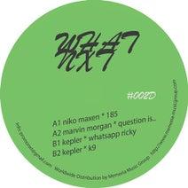Niko Maxen, Marvin Morgan, Kepler - WHXD002