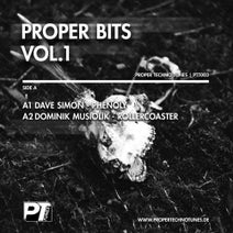 Dave Simon, Dominik Musiolik, Tom Hades, Irregular Synth - Proper Bits Vol.1