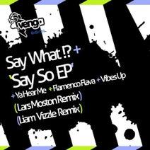 Say What?!?, Lars Moston, Liam Vizzle - Say So EP