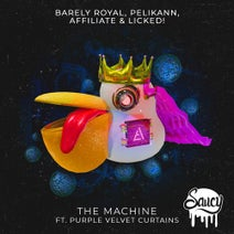 Affiliate, Pelikann, Barely Royal, Purple Velvet Curtains, Licked! - The Machine
