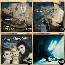 "Pisk, Nat Gonella, Atom Smith, Miss Emmma, Burkey, The Swing Bot, Wolfgang Lohr, The Speakeasy Three - ""Blue Cover"" Series 2.2"