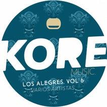 Alex Deft, V3O, Jhon Alejandro, Sebastian LDM, Moog Sane, S.L.M.D, Andres Shockwave, Maxikool - Los Alegres Vol 6