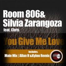 Chris, Silvia Zaragoza, Room 806, Allan H & Kylou - You give me love