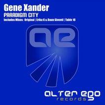 Gene Xander, Daun Giventi, Erika K, Table 18 - Paradigm City