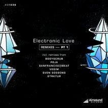 Akos Wex, Bodyscrub, Peja, SanFranciscoBeat, Vegim, Sven Sossong, Strktur - Electronic Love Remixes PT. 1
