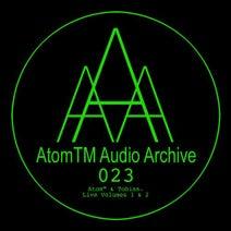 Tobias., AtomTM, AtomTM & Tobias. - Live Volumes 1 & 2