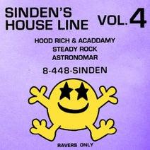 Acaddamy, Hoodrich, Steady Rock, Astronomar - Sinden's House Line Vol. 4