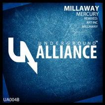 Art Inc., Millaway - Mercury (Remixes)