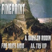 Fineprint - Babylon Riddim