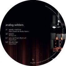 Alexi Delano, Marko Nastic, M.R.E.U.X., Steve Stoll - Analog Soldiers