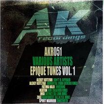 Alexey Kotlyar, Fatima Hajji, Heaton, Jmix, Zule, Spirit Warrior, Ivan Devero, Skaivox, DJ Link, K.E.N.Y.U. - Epique Tunes, Vol. 1