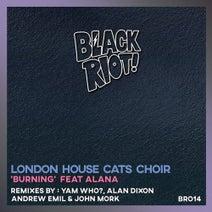 London House Cats Choir, Alan Dixon, Andrew Emil, John Mörk, Yam Who? - Burning