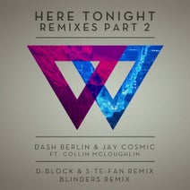 Dash Berlin, Blinders, Collin Mcloughlin, Jay Cosmic (UK), D-Block & S-te-Fan - Here Tonight (Remixes - Part 2)