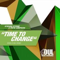 Pete Simpson, Steven Stone, Mark Di Meo - Time to Change (Mark Di Meo Remix)