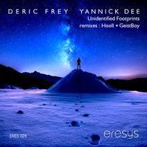 DeRic Frey, Yannick Dee, Hooll, Geistboy - Unidentified Footprints