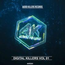 Abrox, Depp&Keio, F.A.V.O.R, GROOVYTEK, Save the Rabbits, Kuper - Digital Killers Vol 01