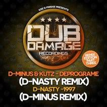 D-Nasty, D-Minus & Kutz, D-Minus - The Remix Edition Part 3
