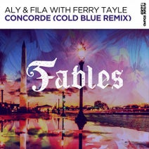 Aly & Fila, Cold Blue, Ferry Tayle - Concorde (Cold Blue Remix)