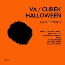 Purple Parrot, M Knowledge, Da Productor, Barbax, Kill The Nation, Fernando Garrido, Giovanni Zannin, Assuc - Cubek: Halloween Selection 2019