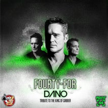 Hardnoiser, Brutal Force, Shock, Rad!ation one - Fourty For Dano EP