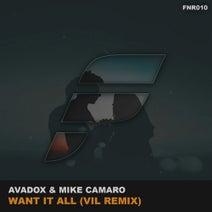 Vil, AVADOX, Mike Camaro - Want It All (Vil Remix)
