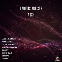 Alex MilLenium, Beby Keysha, Alain Demon, Chooka Chooka, Forest, Manu Sami, 2Drops, Velvet - ADSR