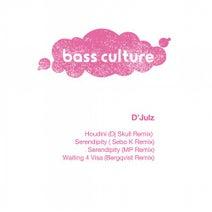 D'Julz, DJ Skull, Sebo K, MP, Bergqvist - Houdini Remixes