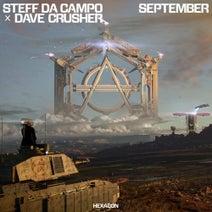 Steff Da Campo, Dave Crusher - September