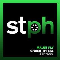 Mauri Fly - Green Tribal