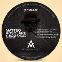 Matteo Rosolare, Jojo Angel, Andre Salmon, CASSIMM - Or Less EP