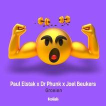 Dr Phunk, Paul Elstak, Joel Beukers - Groeien - Extended Mix