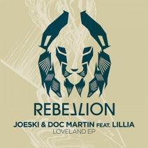 Doc Martin, Joeski, Lillia - Loveland EP