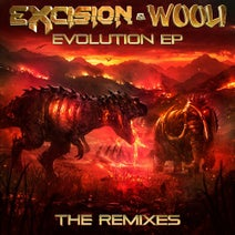 Excision, Wooli, Trivecta, Julianne Hope, Sam King, Seven Lions, Dylan Matthew, Kompany, Ray Volpe, SampliFire, MUST DIE!, Hairitage, Hi I'm Ghost, Calcium, Whales - Evolution - The Remixes
