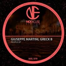 Giuseppe Martini, Greck B - People