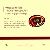 Cmatrix, Dasero, Bruno Mouchinho, Dacar, Jack Carter, Franz Dvarg, Par Conséquent, Kemp&Thompson, dj mimmino, Mikromatic - 4 Years Anniversary Best of Galapago Recordings