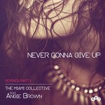 The Miami Collective, Spellband, Angie Brown, Ezio Centanni, Enea DJ, Albertico, Paolo Madzone Zampetti - Never Gonna Give Up (Remixes Part 1)