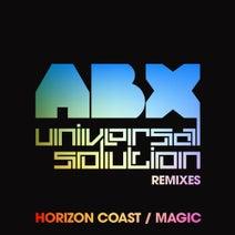 ABX, Universal Solution, Universal Solution - Horizon Coast / Magic - Universal Solution Remixes
