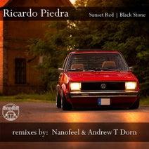 Ricardo Piedra, Nanofeel, Andrew T Dorn - Sunset Red | Black Stone