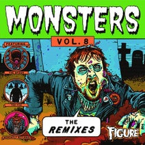 Figure, effin, TenGraphs, Kozmoz, Zempra, Sluggo, Yakz, Boogie T, Bare, Chainlynx, HEHVY, Nocturne, Whiskers, LVNKY, 2FAC3D, Kill Rex, Psykik, Dubscribe, LUZCID - Monsters: The Remixes, Vol. 8