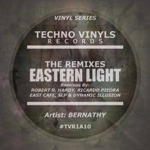 Bernathy, Robert R. Hardy, East Cafe, Ricardo Piedra, Dynamic Illusion, SLP (HU) - Eastern Light (The Remixes)