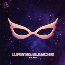 B.K Mik - Lunettes blanches