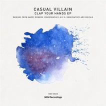 Casual Villain, Harry Romero, Drumcomplex, Distale, M.F.S: Observatory - Clap Your Hands EP